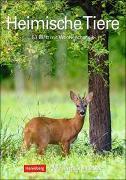 Cover-Bild zu Harenberg (Hrsg.): Heimische Tiere Kalender 2022