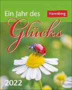Cover-Bild zu Beckmann, Ulrike: Ein Jahr des Glücks Kalender 2022