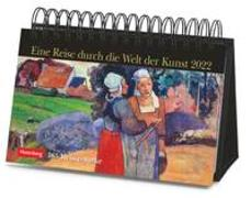 Cover-Bild zu Harenberg (Hrsg.): Eine Reise durch die Welt der Kunst Kalender 2022