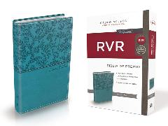Cover-Bild zu Biblia de Premio y Regalo Reina Valera Revisada, Leathersoft, Aqua