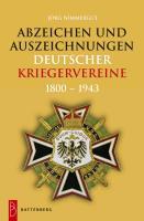 Cover-Bild zu Nimmergut, Jörg: Abzeichen und Auszeichnungen deutscher Kriegervereine