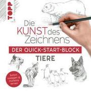 Cover-Bild zu frechverlag: Die Kunst des Zeichnens Tiere. Der Quick-Start-Block