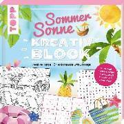 Cover-Bild zu frechverlag: Sommer-Sonne-Kreativblock