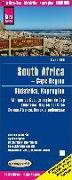 Cover-Bild zu Peter Rump, Reise Know-How Verlag: Reise Know-How Landkarte Südafrika Kapregion / South Africa, Cape Region (1:500.000). 1:500'000