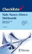 Cover-Bild zu Checkliste Hals-Nasen-Ohren-Heilkunde von Arnold, Wolfgang