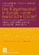 Cover-Bild zu Herzberg, Carsten: Der Bürgerhaushalt in Europa - eine realistische Utopie? (eBook)