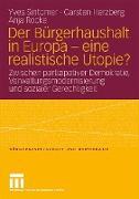 Cover-Bild zu Sintomer, Yves: Der Bürgerhaushalt in Europa - eine realistische Utopie?