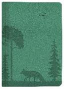 Cover-Bild zu ALPHA EDITION (Hrsg.): Buchkalender Nature Line Forest 2022 - Taschen-Kalender A5 - 1 Tag 1 Seite - 416 Seiten - Umwelt-Kalender - mit Hardcover - Alpha Edition
