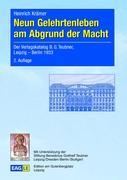 Cover-Bild zu Krämer, Heinrich: Neun Gelehrtenleben am Abgrund der Macht