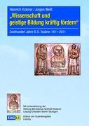Cover-Bild zu Krämer, Heinrich: Wissenschaft und geistige Bildung kräftig fördern