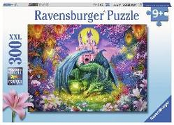 Cover-Bild zu Mystischer Drachenwald Puzzle 300 Teile XXL
