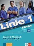 Cover-Bild zu Linie 1 Pflege B2. Deutsch für die Pflege. Medienpaket von Bolte-Costabiei, Christiane