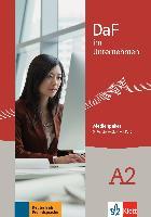 Cover-Bild zu DaF im Unternehmen A2 - Medienpaket (2 Audio-CDs) von Grosser, Regine