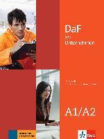 Cover-Bild zu DaF im Unternehmen A1-A2. Kursbuch + Audio- und Videodateien online von Farmache, Andreea