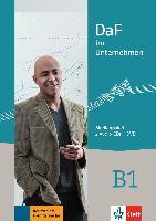 Cover-Bild zu DaF im Unternehmen B1. Medienpaket (2 Audio-CDs + DVD) von Fügert, Nadja