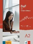 Cover-Bild zu DaF im Unternehmen A2 - Kurs- und Übungsbuch von Grosser, Regine