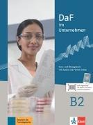 Cover-Bild zu DaF im Unternehmen B2 - Kurs- und Übungsbuch mit Audios und Filmen online von Fügert, Nadja