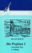 Cover-Bild zu Die Profeten I von Koch, Klaus