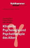 Cover-Bild zu Klinische Psychologie und Psychotherapie des Alters von Zank, Susanne