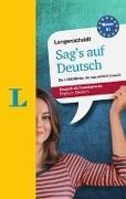 Cover-Bild zu Langenscheidt Sag's auf Deutsch - Deutsch als Fremdsprache von Walther, Lutz