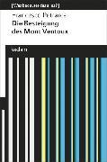 Cover-Bild zu Petrarca, Francesco: Die Besteigung des Mont Ventoux (eBook)