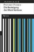 Cover-Bild zu Petrarca, Francesco: Die Besteigung des Mont Ventoux