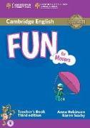 Cover-Bild zu Fun for Movers. Third Edition. Teacher's Book with Audio von Robinson, Anne
