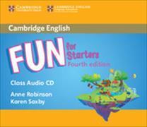 Cover-Bild zu Fun for Starters Class Audio CD von Robinson, Anne