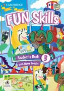 Cover-Bild zu Fun Skills Level 3 Student's Book with Home Booklet and Downloadable Audio von Sage, Colin