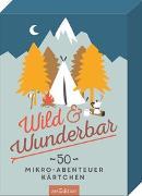 Cover-Bild zu Wild & Wunderbar von Schatz, Franziska Marielle (Illustr.)