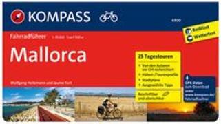 Cover-Bild zu Heitzmann, Wolfgang: KOMPASS Fahrradführer Mallorca. 1:50'000