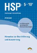 Cover-Bild zu May, Peter: HSP 5-10 B plus. Hinweise zur Durchführung und Auswertung