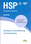 Cover-Bild zu May, Peter: HSP 5-10 EK plus. Hinweise zur Durchführung und Auswertung