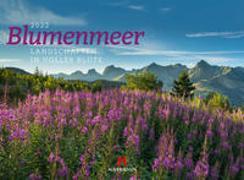 Cover-Bild zu Ackermann Kunstverlag (Hrsg.): Blumenmeer - Landschaften in voller Blüte, Kalender 2022