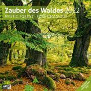 Cover-Bild zu Ackermann Kunstverlag (Hrsg.): Zauber des Waldes Kalender 2022 - 30x30