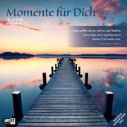 Cover-Bild zu Ackermann Kunstverlag (Hrsg.): Momente für Dich Kalender 2022 - 30x30