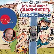 Cover-Bild zu Welk, Sarah: Hilfe, Staubsauger entlaufen! - Ich und meine Chaos-Brüder, (Ungekürzte Lesung) (Audio Download)