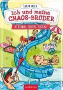 Cover-Bild zu Welk, Sarah: Ich und meine Chaos-Brüder - Achtung, fertig, Ferien! (Ich und meine Chaos-Brüder 4)