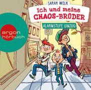 Cover-Bild zu Welk, Sarah: Ich und meine Chaos-Brüder - Alarmstufe Umzug