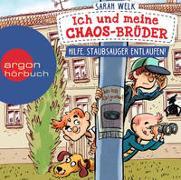 Cover-Bild zu Welk, Sarah: Ich und meine Chaos-Brüder - Hilfe, Staubsauger entlaufen!
