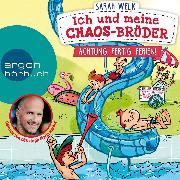 Cover-Bild zu Welk, Sarah: Achtung, fertig, Ferien! - Ich und meine Chaos-Brüder, (Ungekürzte Lesung) (Audio Download)