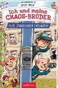 Cover-Bild zu Welk, Sarah: Ich und meine Chaos-Brüder - Hilfe, Staubsauger entlaufen! (Ich und meine Chaos-Brüder 2)