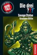 Cover-Bild zu Die drei ??? Savage Statue - Grausame Göttin (drei Fragezeichen) (eBook) von Carey, M. V.