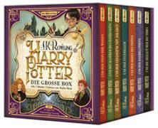 Cover-Bild zu Rowling, J.K.: Harry Potter. Die große Box zum Jubiläum. Alle 7 Bände