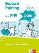 Cover-Bild zu deutsch.training plus 3. Lese- und Hörverstehen. Schülerarbeitsheft mit Lösungen Klasse 9/10