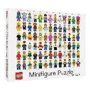 Cover-Bild zu LEGO: LEGO® Minifigure 1000-Piece Puzzle
