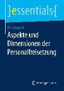 Cover-Bild zu Lippold, Dirk: Aspekte und Dimensionen der Personalfreisetzung (eBook)