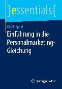 Cover-Bild zu Lippold, Dirk: Einführung in die Personalmarketing-Gleichung (eBook)