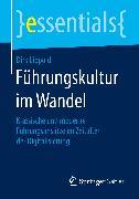Cover-Bild zu Lippold, Dirk: Führungskultur im Wandel (eBook)