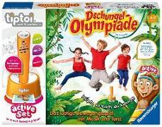Cover-Bild zu tiptoi® active Set Dschungel-Olympiade